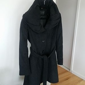 Charcoal Tahari Coat